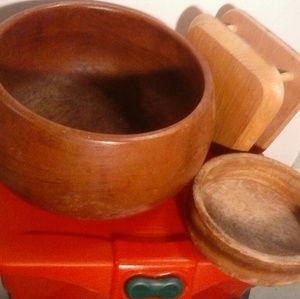 Vintage Utility Wood 3 Pieces